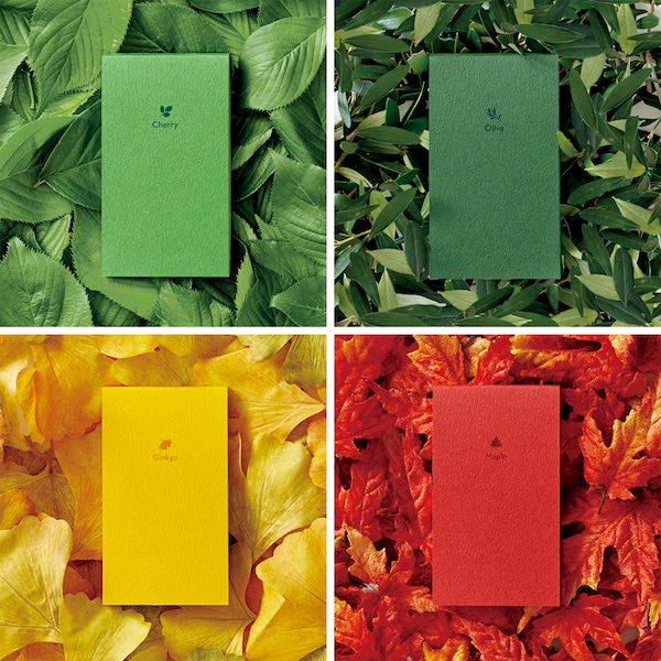 Seasonal Colors Memo pad set by Katsumi Tamura