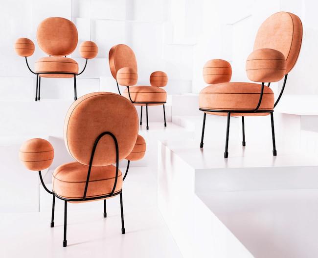Lollipop Armchair by Natalia Komarova