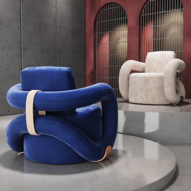 Infinity Armchair by Natalia Komarova