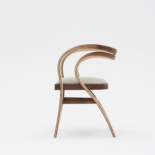 Nina & Beni Chair by Andres Marino Maza - Gold A' Design Award Winner for Furniture, Decorative Items and Homeware Design Category in 2020