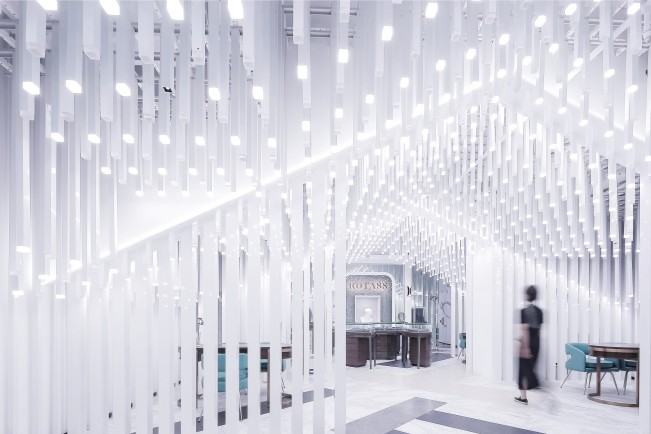 Rotass Haute Joallerie Chongqing Store Store by Xiaobing Yao - Platinum A' Design Award Winner for Interior Space and Exhibition Design Category in 2020