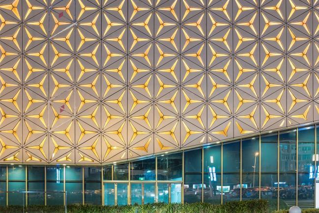 Shangrao Seazen Wuyue Plaza Nightscape Lighting Design by Alex Xu - Silver A' Design Award Winner for Lighting Products and Lighting Projects Design Category in 2020