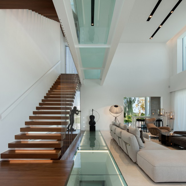 The Linear House House by Christos Pavlou - Gold A' Design Award Winner for Architecture, Building and Structure Design Category in 2020
