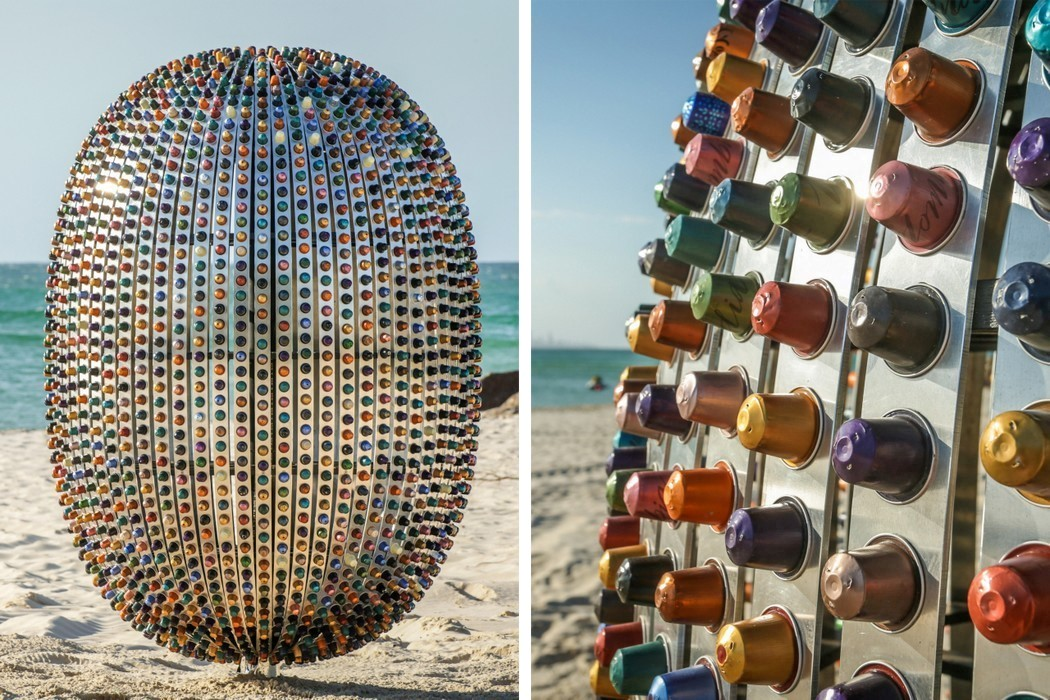 Superegg Sculpture Installation by Jaco Roeloffs