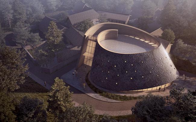 Wenjiang Shouan Flower Exhibition Center by Yun Lu - MUDA Architects