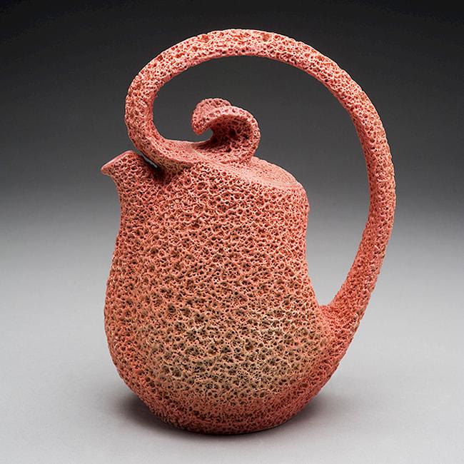 Coral Teapot by Swee Tuan Pang