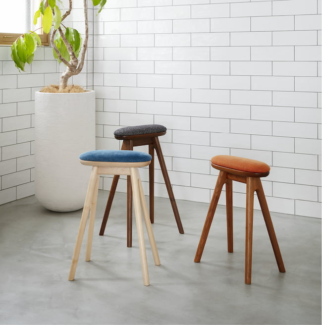 Coupe Kitchen Stool Kitchen Stool by Nagano Interior Industry Co.Ltd