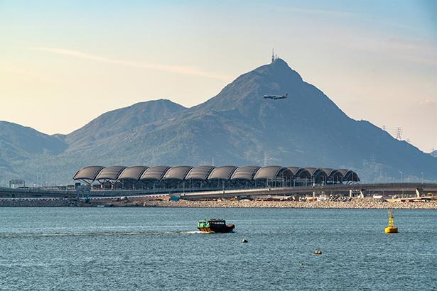 HK Port Passenger Clearance Building Cross Border Crossing Facility by Aedas
