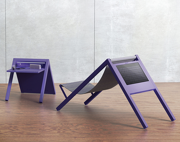 One Line Garden Furniture by Jaroslaw Markowicz