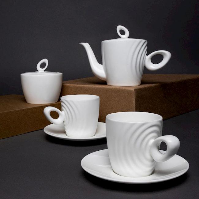Attimo Tea Set by Mikhail Chistiakov