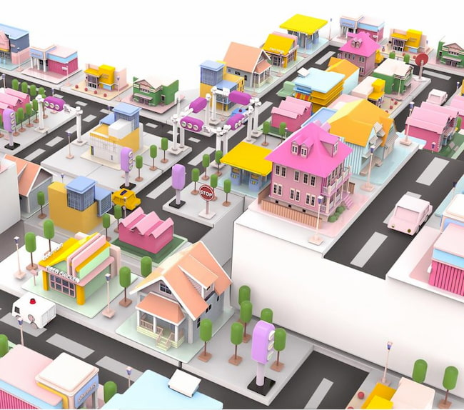 Build Your City Blind Box Toys by Zilan Zhou