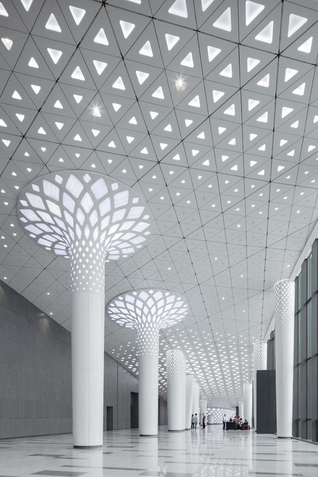 Guangming Public Service Platform by Zhubo Design Co., Ltd.