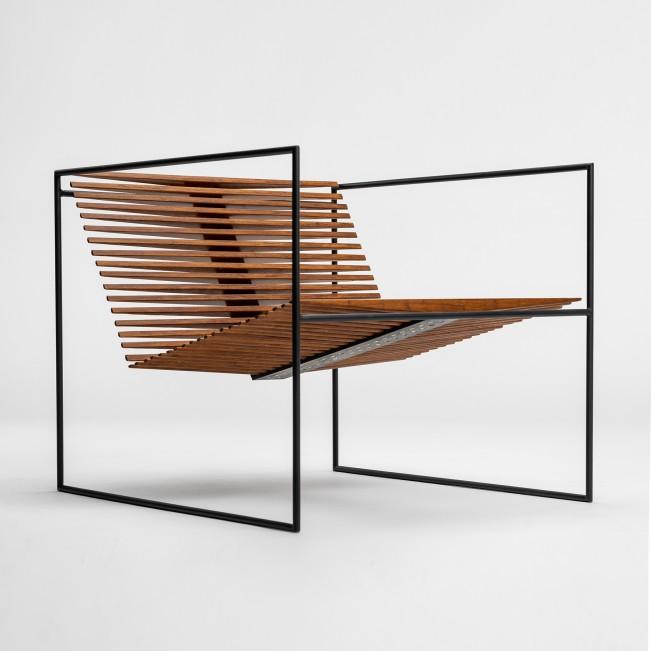 Minimal Techno Arm Chair by Sebastiaan Van Beest