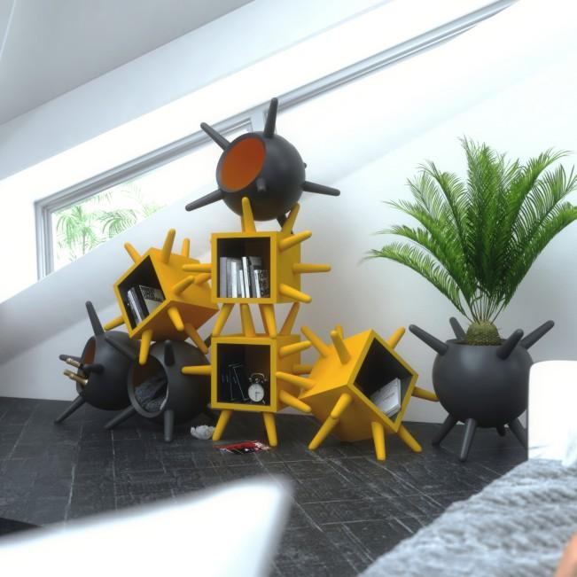 Oleg Multifunctional Furniture by Andrea Cingoli