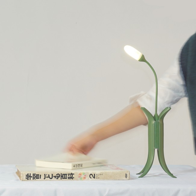 Weed Lamp by Jinying Cheng