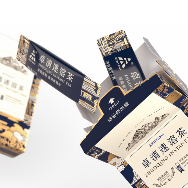 ZhuoQing Instant Tea Essence by Tiger Pan